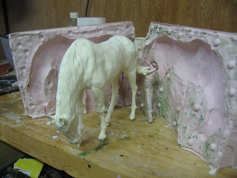 Cast straight out of the mould