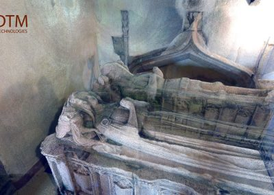 St Gredifaels Tomb, Laser survey